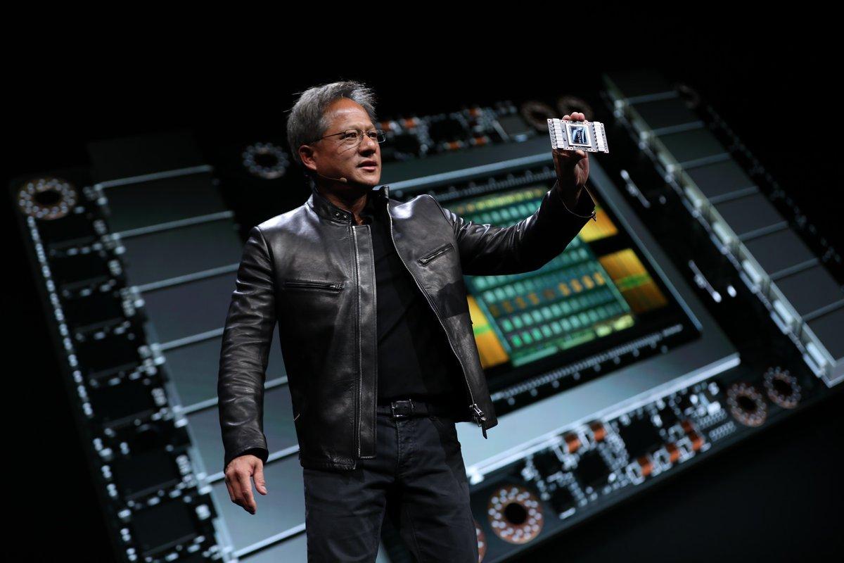 Avec le Tesla V100, Nvidia propose une offre extrême: 7,5 téraflops en FP64, 15 téraflops en FP32 et 120 téraflops sur le Deep Learning.