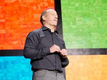 Doug Burger lors de la conférence Ignite en 2016.