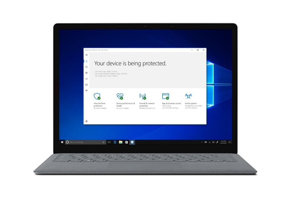 windows 10 s security