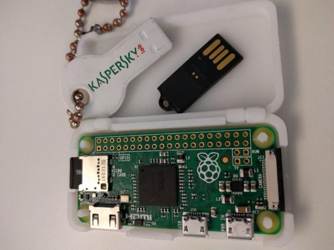 Kaspersky Raspberry Pi Zero