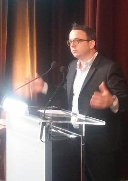 Antoine Darodes, directeur de l'Agence du Numérique