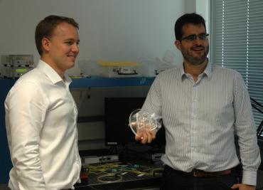 Guillaume Labrouille (CTO) et Jean-François Morizur (CEO), cofondateurs de Cailabs
