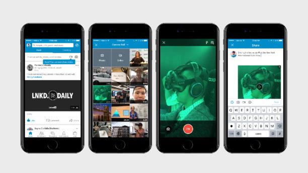LinkedIn embarque enfin la vidéo native