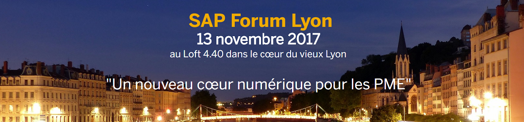 SAP Forum - Lyon