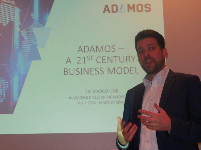 Marco Link, directeur d'Adamos GmbH.