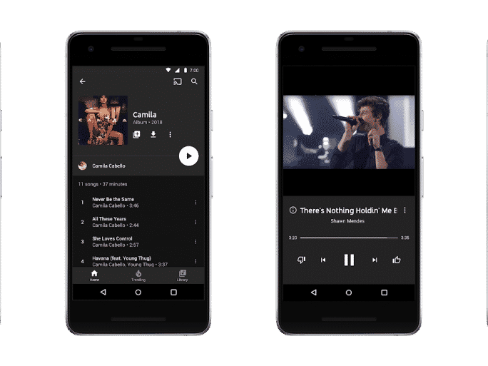 Google lance YouTube Music et YouTube Premium, mais garde Play Musique