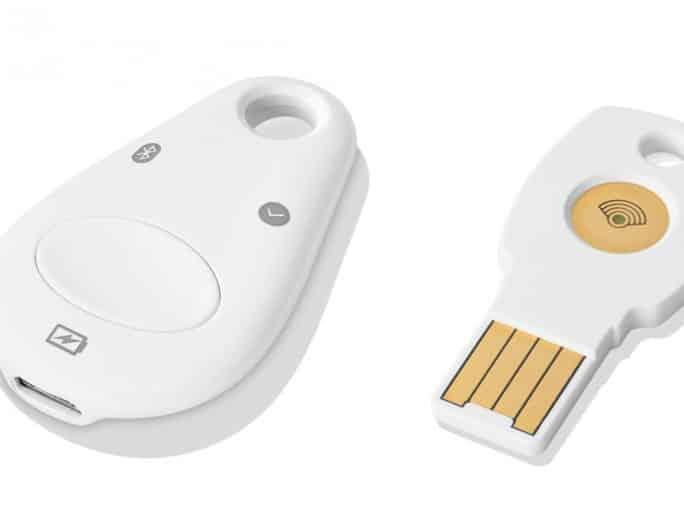 Google Titan : une clé USB/Bluetooth pour une authentification à 2 facteurs