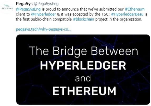 pegasys-hyperledger