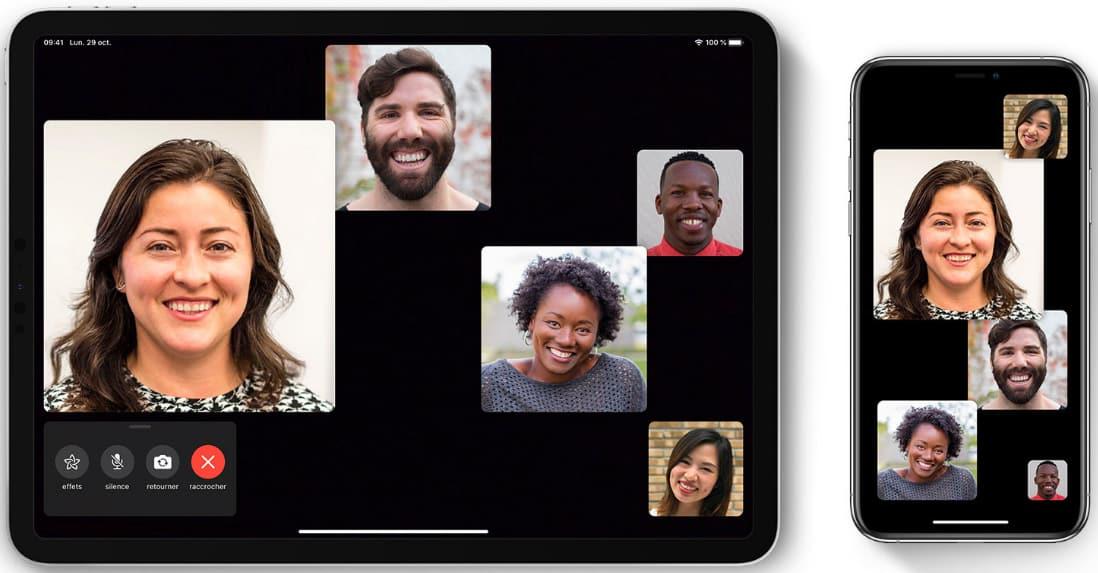 FaceTime mobile