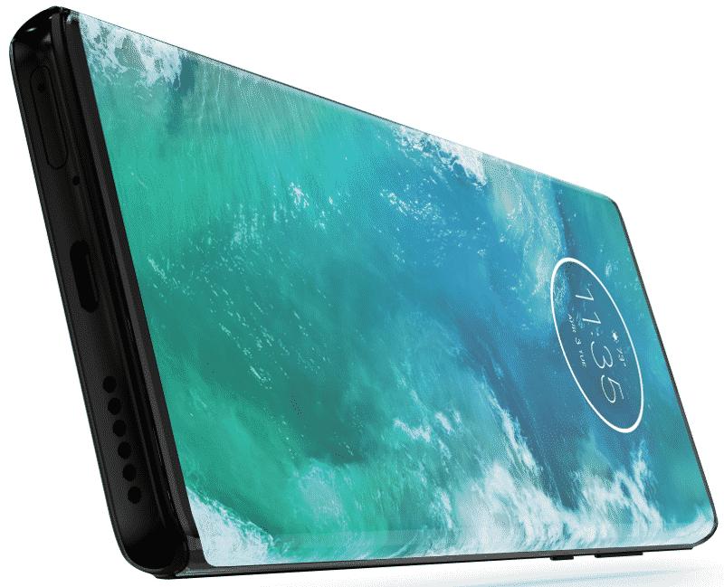 Motorola Edge+ écran