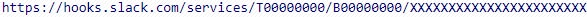 URL webhook Slack