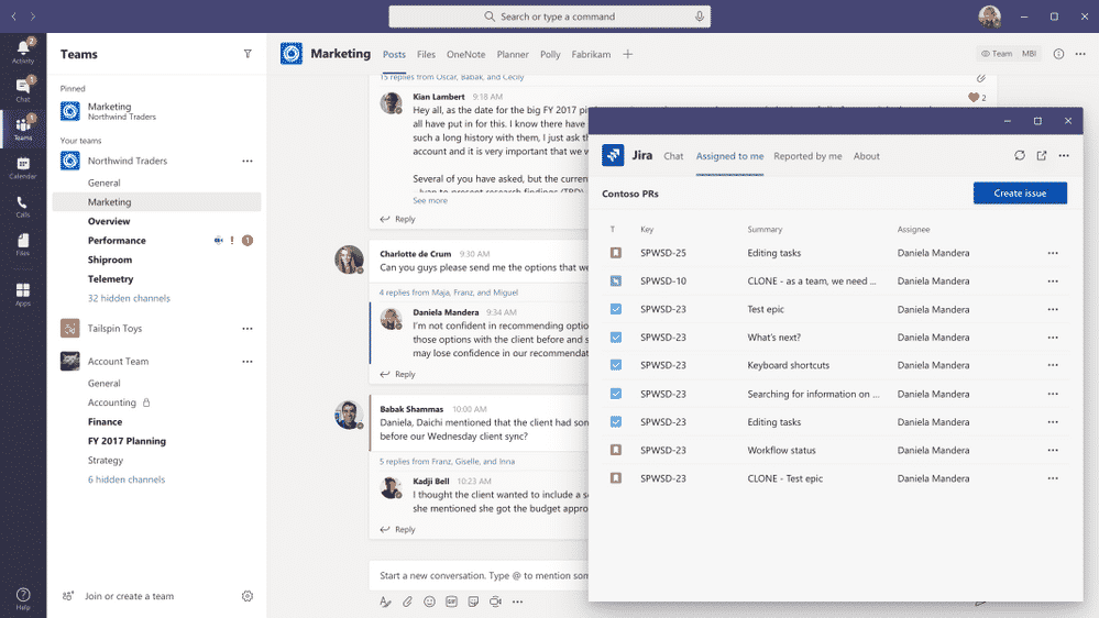 Microsoft Teams pop-out
