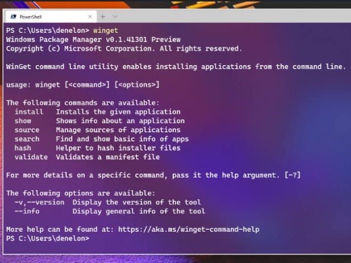 winget Microsoft