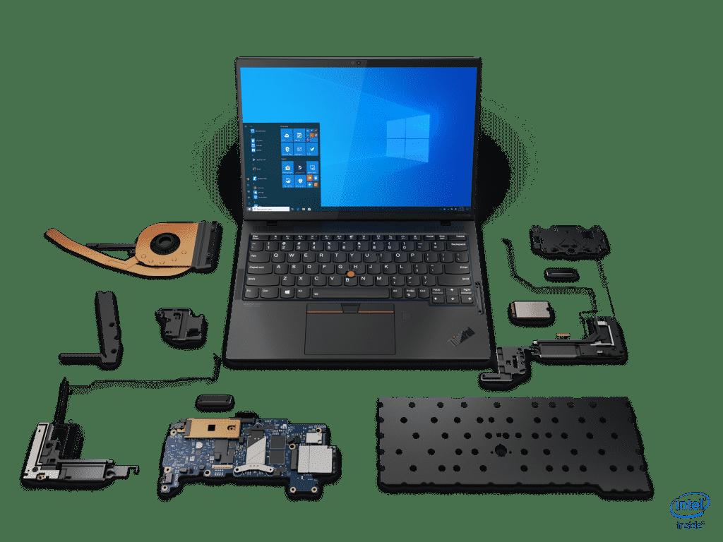 ThinkPad X1 Nano internals