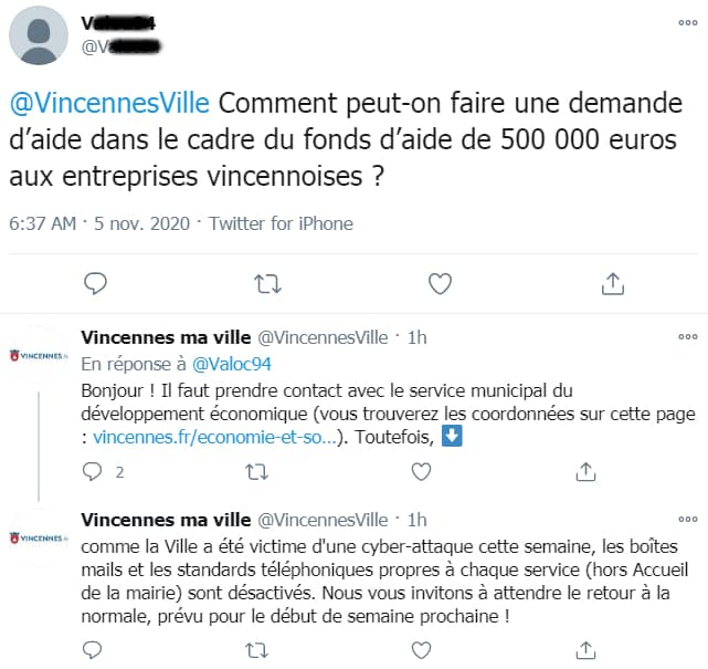 Fonds aide Vincennes