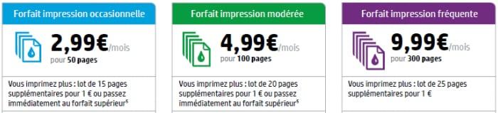 Instant Ink lancement France