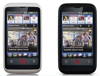 Smartphone Facebook par INQ Mobile