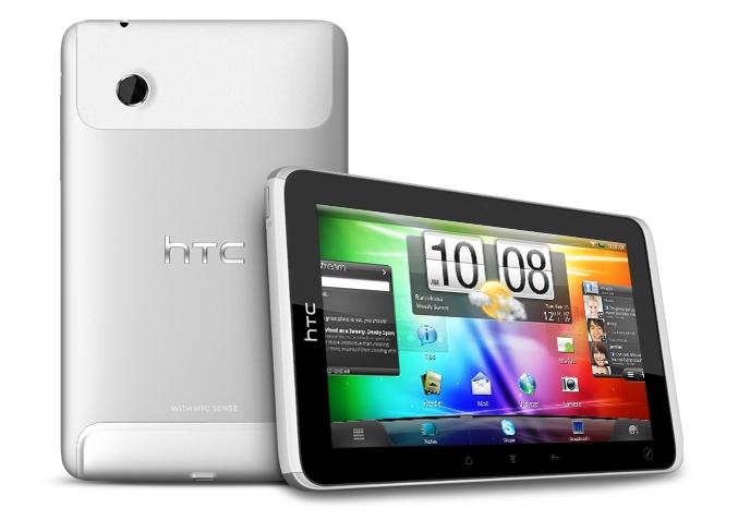 HTC Flyer, tablette 7 pouces sous Android