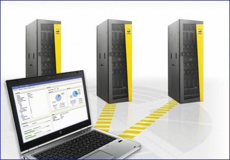 Stockage HP 3PAR P10000 avec Peer Motion