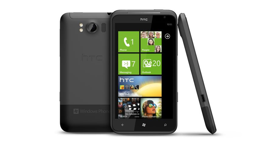 HTC Titan sous Windows Phone 7.5 Mango