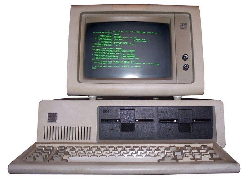 """5150, le premier """"personal computer"""" d'IBM"""