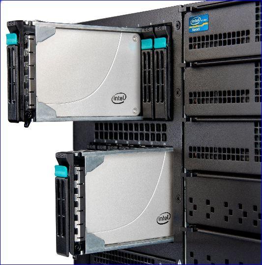 Intel SSD série 710,  MLC pour datacenter