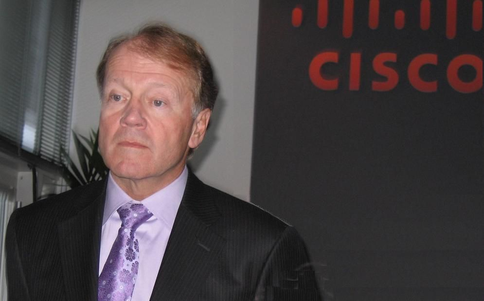 John Chambers Cisco Live London, févr. 2011