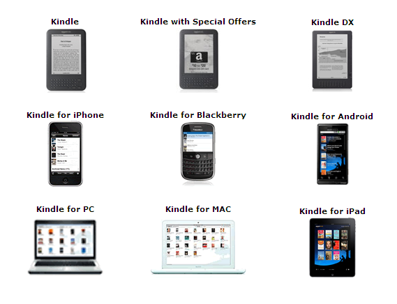 Amazon envoie ses «Kindle books» dans le cloud | Silicon