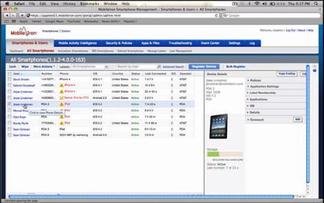 MobileIron VSP, une solution pour sécuriser les smartphones