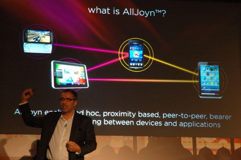 Rob Chandhok de Qualcomm présente AllJoyn