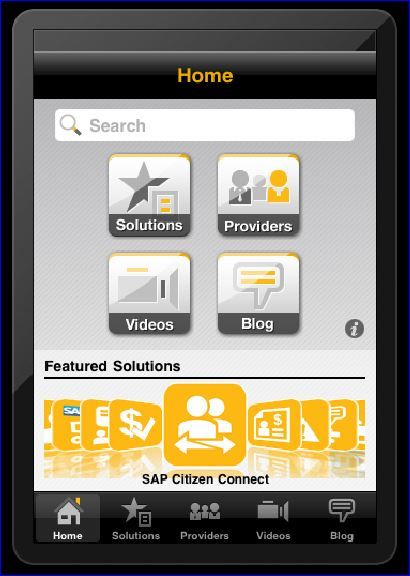 SAP App store