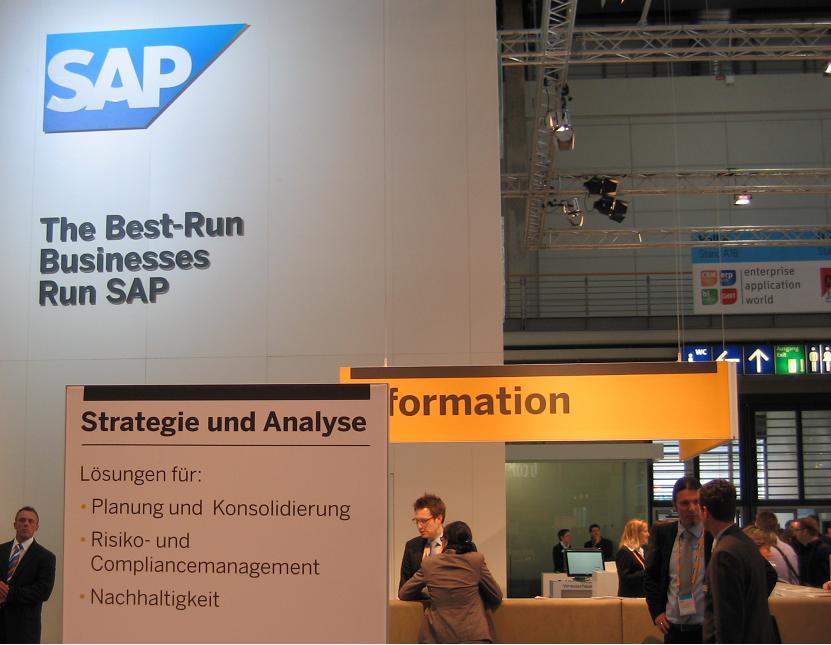 SAP salon CeBIT 2011