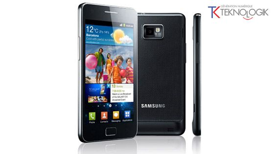 Samsung, le Galaxy S II