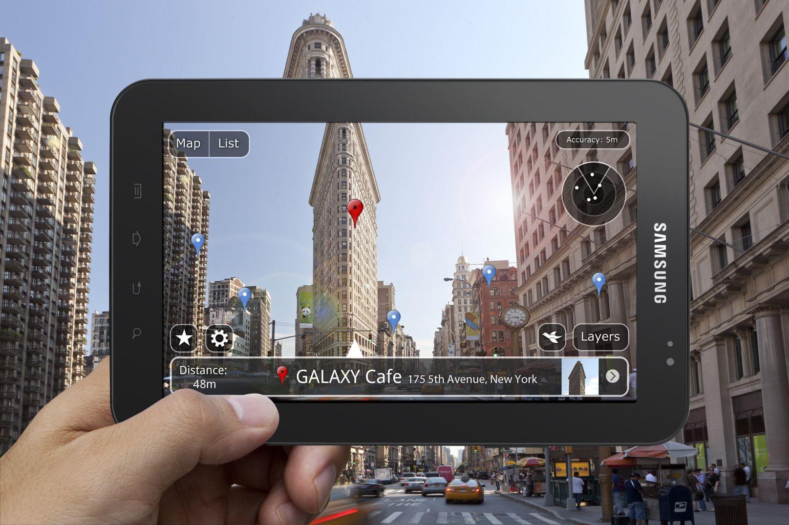 Galaxy Tab 10.1, première tablette 10 pouces et sous Android 3.0 de Samsung