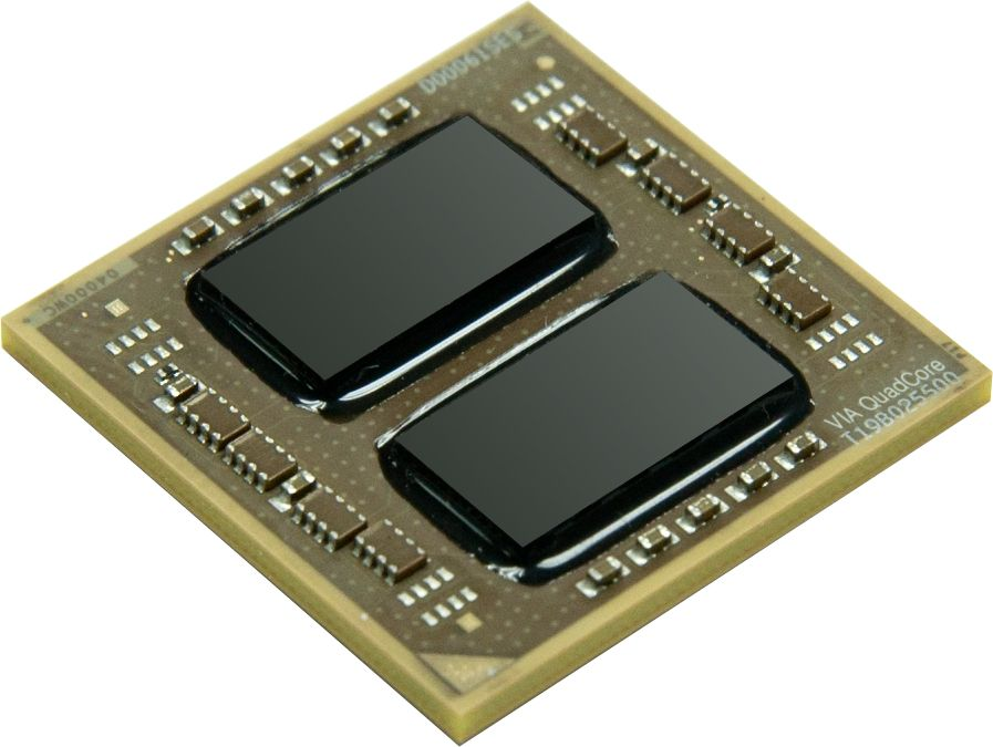 VIA QuadCore Processor -Angle
