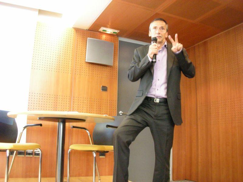 Philippe Montargès, co-dirigeant d'Alter Way et président de l'open world forum