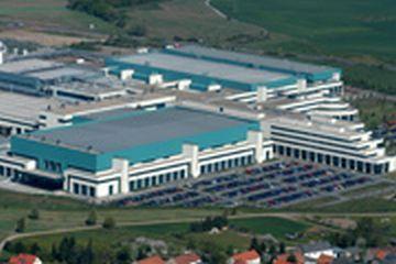 Unité de production de GlobalFoundries à Dresde en Allemagne