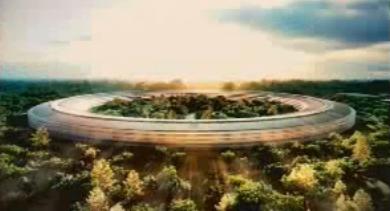 Futur siège d'Apple à Cupertino