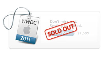 Apple sold out