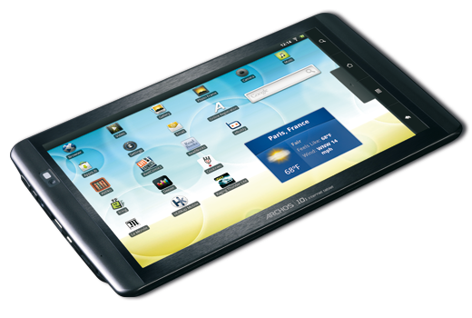 Archos Internet Tablet 10.1 sous Android