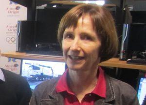 Michèle Hyron, directrice de l'intégration au Technology Lab des JO de Londres