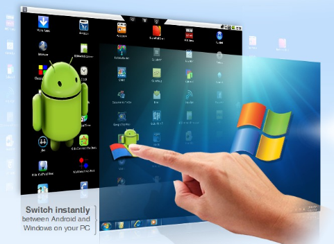 BlueStacks développe une machine virtuelle Android pour Windows