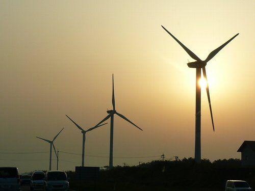 Ferme d'éoliennes, le vent pour alimenter en énergies renouvelables