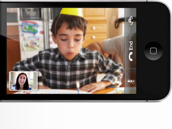 Facetime sur l'iPhone 4, la visiophonie mobile selon Apple