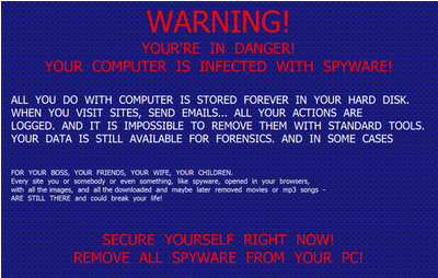 faux antivirus