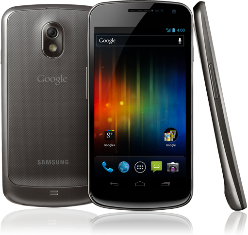 Samsung Galaxy Nexus sous Google Android 4.0 Ice Cream Sandwich