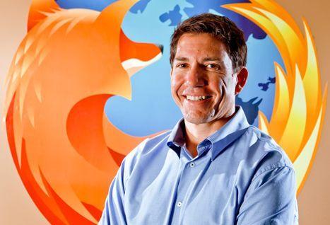 Gary Kovacs, CEO de la Mozilla Foundation