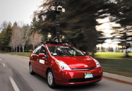Google car prius pour Street View