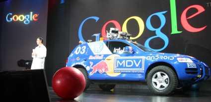 Google expérimente les voitures automatisées