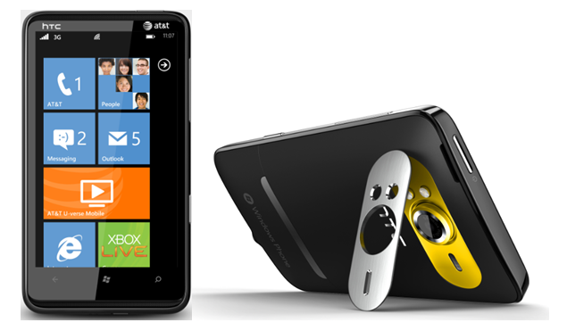 HTC HD7S sous Windows Phone 7